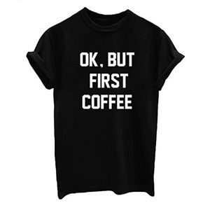 Tops - •Coffee Addict Tee☕️ •••>